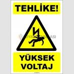 EF1548 - Tehlike! Yüksek Voltaj