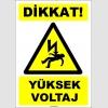EF1549 - Dikkat! Yüksek Voltaj