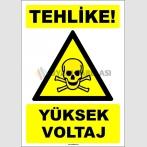 EF1551 - Tehlike! Yüksek Voltaj