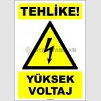 EF1552 - Tehlike! Yüksek Voltaj