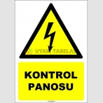 EF1595 - Kontrol Panosu