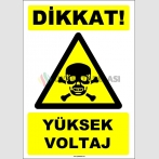 EF1613 - Dikkat! Yüksek Voltaj