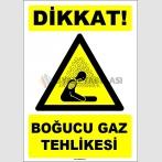 EF1632 - Dikkat! Boğucu Gaz Tehlikesi