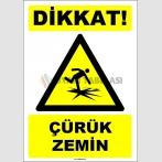EF1637 - Dikkat! Çürük Zemin