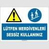 EF1648 - Lütfen Merdivenleri Sessiz Kullanınız
