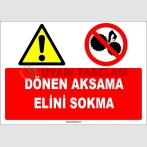 EF1666 - Dönen Aksama Elini Sokma