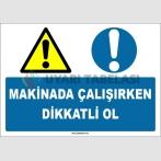 EF1682 - Makinada Çalışırken Dikkatli Ol