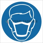EF1701 - Toz Maskesi İşareti/Levhası/Etiketi