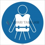 EF1708 - Can Yeleği İşareti/Levhası/Etiketi
