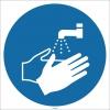 EF1719 - Ellerinizi Yıkayın İşareti/Levhası/Etiketi