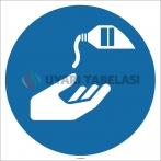 EF1723 - Ellerinizi Dezenfekte Edin İşareti/Levhası/Etiketi