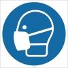 EF1724 - Toz Maskesi İşareti/Levhası/Etiketi