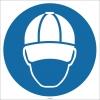EF1732 - Koruyucu Kep/Şapka İşareti/Levhası/Etiketi