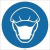 EF1739 - Bone ve Maske İşareti/Levhası/Etiketi