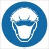 EF1740 - Bone ve Maske İşareti/Levhası/Etiketi