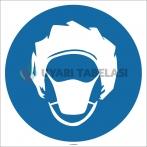EF1741 - Bone ve Maske İşareti/Levhası/Etiketi