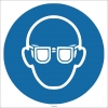EF1742 - Koruyucu Gözlük İşareti/Levhası/Etiketi