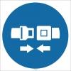EF1745 - Emniyet Kemeri İşareti/Levhası/Etiketi