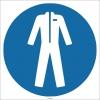 EF1748 - Koruyucu Giysi İşareti/Levhası/Etiketi