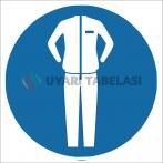 EF1752 - Koruyucu Giysi İşareti/Levhası/Etiketi