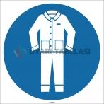 EF1753 - Koruyucu Giysi İşareti/Levhası/Etiketi