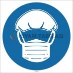 EF1759 - Saç ve Sakal Boneleri İşareti/Levhası/Etiketi