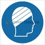 EF1763 - Yüzme Bonesi İşareti/Levhası/Etiketi