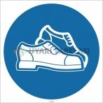 EF1781 - Koruyucu Ayakkabı İşareti/Levhası/Etiketi