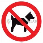 EF1820 - Köpek Giremez İşareti/Levhası/Etiketi