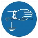 EF1823 - Topraklama Bilekliği İşareti/Levhası/Etiketi
