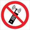 EF1827 - Cep Telefonu Kullanmak Yasaktır İşareti/Levhası/Etiketi