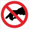 EF1842 - Dokunmak Yasaktır İşareti/Levhası/Etiketi