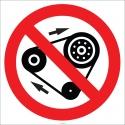 EF1845 - Yağlama Yapma İşareti/Levhası/Etiketi