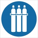 EF1846 - Tüpleri Bağlayın İşareti/Levhası/Etiketi
