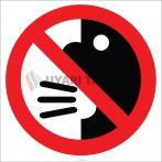 EF1852 - Yüksek Sesle Konuşmak Yasaktır İşareti/Levhası/Etiketi