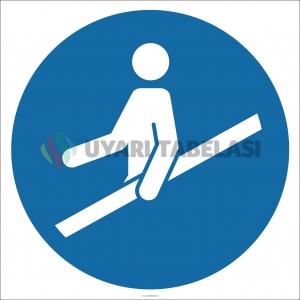 EF1855 - Trabzana Tutunun İşareti/Levhası/Etiketi