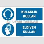EF1911 - Kulaklık kullan, eldiven kullan