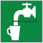 EF2002 - İçme Suyu İşareti Levhası/Etiketi