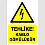 EF2053 - Tehlike! Kablo gömülüdür