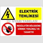 EF2058 - Elektrik Tehlikesi, Regülatör Bölgesine Girmek Tehlikeli ve Yasaktır