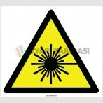 EF2087 - Dikkat Lazer Işını İşareti