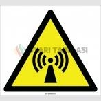 EF2088 - Dikkat İyonize Olmayan Radyasyon İşareti