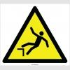 EF2091 - Dikkat Yüksekten Düşme Tehlikesi İşareti