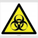 EF2092 - Dikkat Biyolojik Tehlike (Biyotehlike) İşareti