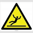 EF2094 - Dikkat Kaygan Zemin Kayma Tehlikesi İşareti