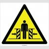 EF2102 - Dikkat Çarpma/Ezilme/Sıkışma Tehlikesi İşareti