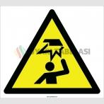EF2103 - Dikkat Baş Çarpma Tehlikesi İşareti
