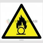 EF2111 - Dikkat Oksitleyici Madde İşareti