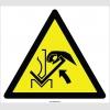 EF2115 - Dikkat Presle Parça Arasına El Sıkışma Tehlikesi İşareti