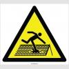 EF2116 - Dikkat Çatı Malzemesi Çürüktür, Çökme Tehlikesi İşareti